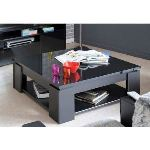 Les meubles olivier Table basse carré Trendy