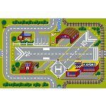 Play SS Modular Traffic - Tapis circuit de voiture 120 x 80 cm
