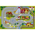 Play SS Modular Traffic - Tapis circuit de voiture 120 x 80 cm