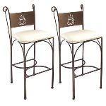 Café - 2 chaises hautes