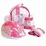 D'arpèje Hello Kitty - Set 2 protections + casque