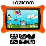 """Logicom Logikids 8 Go - Tablette tactile 7"""" pour enfant sous Android 4.1"""