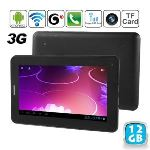 """Yonis Y-tt4g12 - Tablette tactile 7"""" 3G sous Android 4 (4 Go interne + Micro SD 8 Go)"""