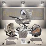 Ferriley & Fitz Avinion - Poussette combinée avec nacelle et siège auto cosy