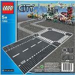 Lego 7280 - City : Route droite et carrefour