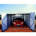 Treco Zincalume TRZ1015UTSD - Garage en métal 14,25 m2