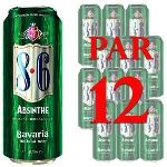 Bavaria Absinthe - Bière Hollandaise aux herbes (12 x 50 cl) 8.3°