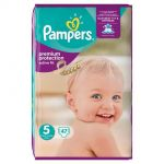 Pampers Active Fit taille 5 Junior 11-25 kg - 47 couches