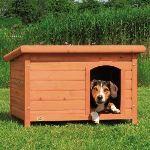 Trixie Niche à chien Woody avec toit plat