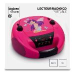 Bigben Interactive CD52 - Lecteur CD radio portable MP3 USB