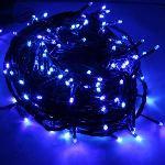 Blachère illumination Guirlande flicker 288 LED fil vert (25 m)