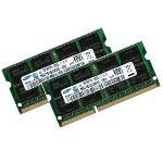 Samsung M471B1G73BH0-CK0 x2 - Barrettes mémoire 2 x 8 Go DDR3 1600 MHz pour Apple iMac MacBook Pro mac mini 2011 2012