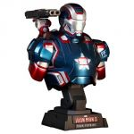 Hot Toys Htb12 - Figurine Iron Man 3 Patriot Scale Bust