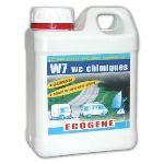 Ecogene W7 - Désinfectant pour WC chimiques (1 L)