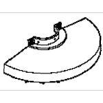 Makita 164814-2 - Carter de protection pour meuleuse 9609NB