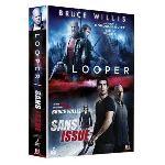 Coffret Bruce Willis : Looper + Sans Issue