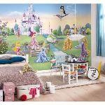 Fresque murale Château des Princesses Disney