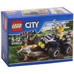 Lego 60065 - City : Le 4x4 du policier des marais