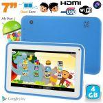 """Yonis Tablette tactile enfant éducative 7"""" 4 Go Dual Core sous Android 4.2"""