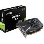 MSI Carte graphique GeForce GTX 1060 AERO ITX 6G OC