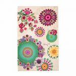 Desigual Happy Blossom - Drap de bain (150 x 95 cm)