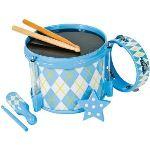 Partner jouet Set tambour et 4 instruments