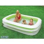 Intex Piscine rectangulaire Family gonflable