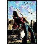 Rocker locker Lp1270 - Poster de groupe Jimi Hendrix Live