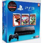Sony PS3 Ultra Slim 12 Go + Uncharted + Little Big Planet + God of War 3