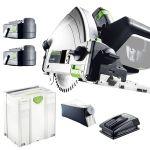 Festool TSC 55 Li 5,2 REB-Plus - Scie plongeante sans fil (561712)