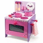 Djeco 06510 - Cuisinière en bois : Ma cuisine en bois
