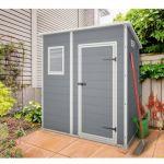 Keter Premium 64 - Abri de jardin en résine 1,6 m2