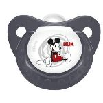Nuk 710113 - 2 sucettes physiologiques Mickey en silicone T1