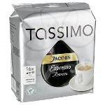 Tassimo 16 dosettes T-Discs Jacobs Ristretto