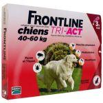 Frontline Tri-Act Chiens 40-60 Kg Boite de 3 Pipettes