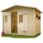 Solid S8787 - Abri de jardin Heidelberg en bois 19 mm 6,06 m2