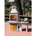 Sunday Formentera Crystal - Barbecue fixe en pierre