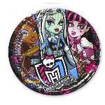 5 assiettes Monster High (23 cm)