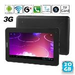 """Yonis Y-tt4g20 - Tablette tactile 7"""" 3G sous Android 4 (4 Go interne + Micro SD 16 Go)"""