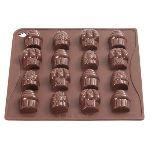 Pavonidea Moule à chocolat cupcakes en silicone