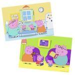 Ravensburger Puzzle Peppa Pig à la maison (2 x 12 pièces)