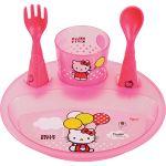 Tigex 80800752 - Set de vaisselle fun puzzle Hello Kitty