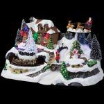 JJA Village de Noël lumineux