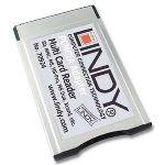 Lindy 70924 - Lecteur de cartes mémoire 20-en-1 sur bus PCMCIA