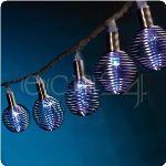 Gev Guirlande lumineuse LED avec suspensions spiralées