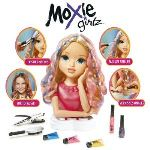 Giochi Preziosi Tête à coiffer Moxie Girlz - Magic Hair : Avery