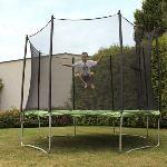 Soulet Trampoline avec filet de protection 365 cm