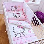Parure de lit réversible Hello Kitty  (100 x 135 cm)