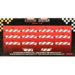 Carrera 20596 - 12 Bordures intérieures pour les virages relevés 4/15° pour circuit Evolution, Digital 132 et 124