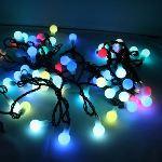 Blachère illumination Guirlande 64 LED Cherrylight RGB (8 m)